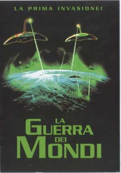 Italian DVDs - The War Of The Worlds 1953