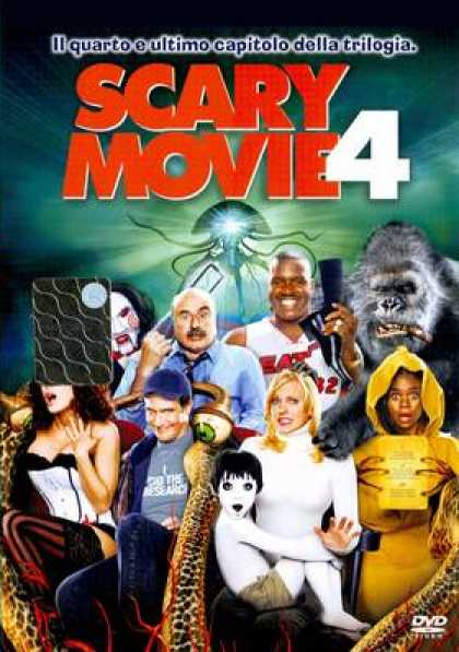 Italian DVDs - Scary Movie 4