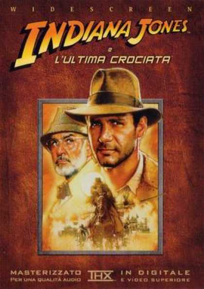 Italian DVDs - Indiana Jones And The Last Crusade