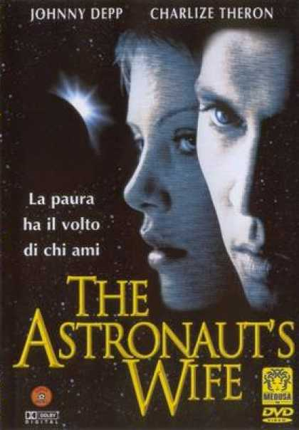 Italian DVDs - The Astronauts Wife