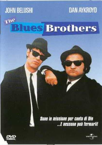 Italian DVDs - The Blues Brothes