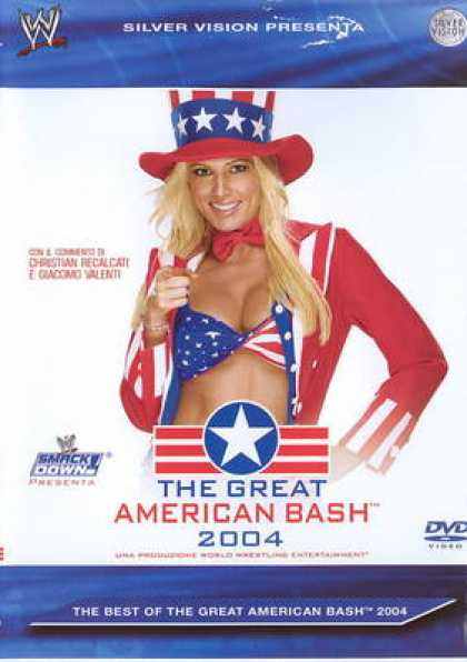 Italian DVDs - The Great American Bash 2004