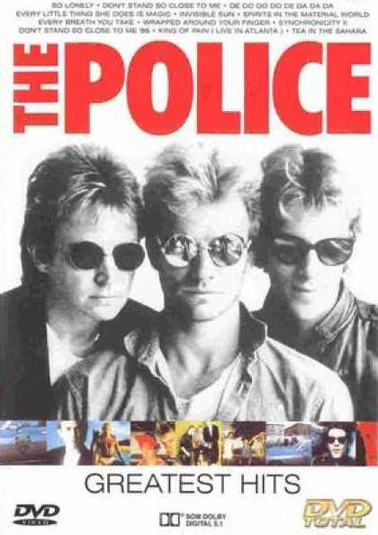 Italian DVDs - The Police Greatest Hits