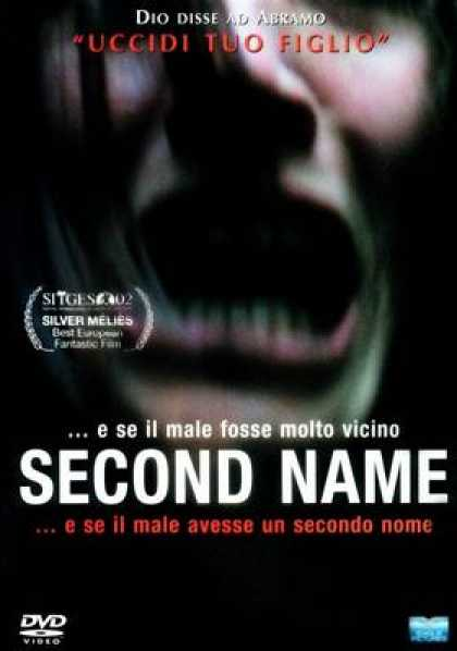 Italian DVDs - Second Name