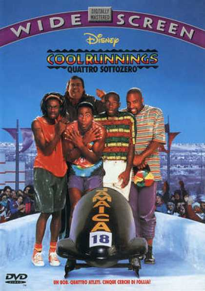 Italian DVDs - Cool Runnings