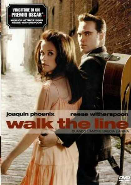Italian DVDs - Walk The Line