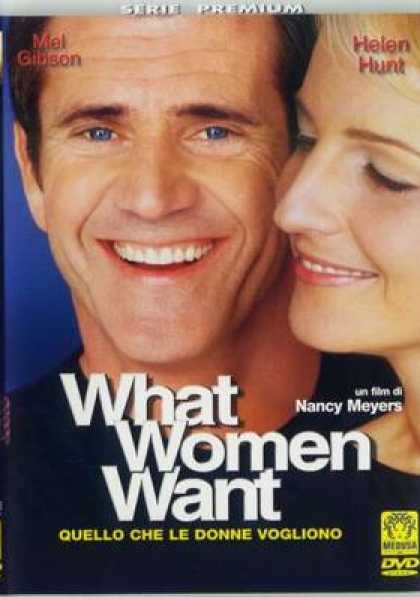 Italian DVDs - What Women Want