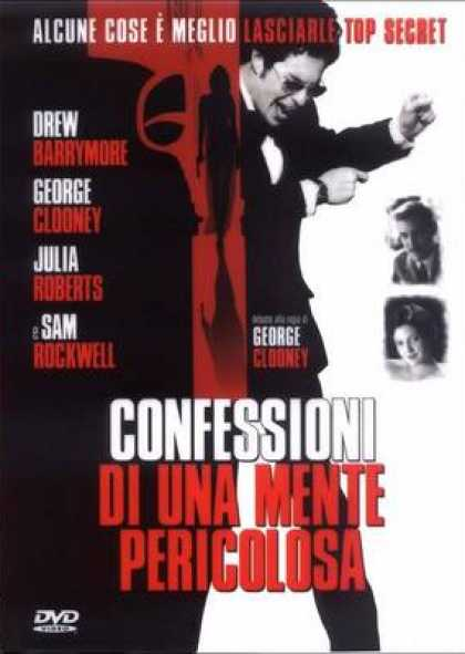 Italian DVDs - Confession Of A Dangerous Mind