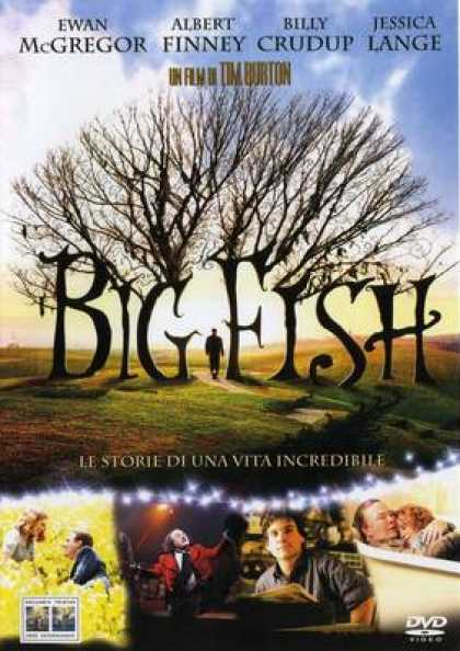 Italian DVDs - Big Fish