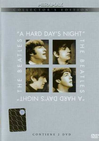 Italian DVDs - The Beatles A Hard Days Night