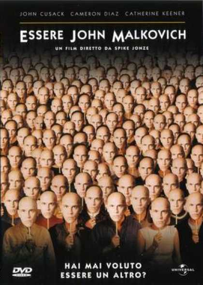Italian DVDs - Being John Malkovich