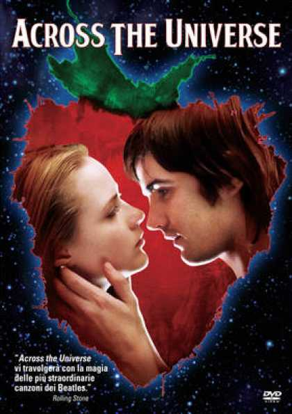 Italian DVDs - Across The Universe