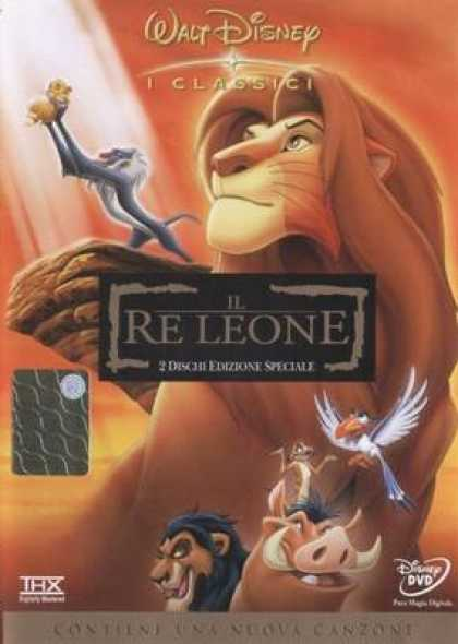 Italian DVDs - The Lion King 1
