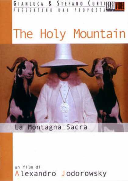 Italian DVDs - The Holy Mountain