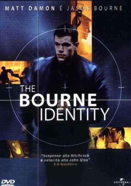 Italian DVDs - The Bourne Identity