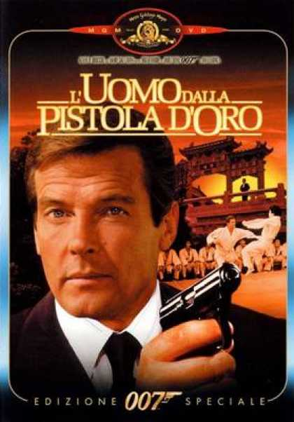 Italian DVDs - The Man With The Golden Gun