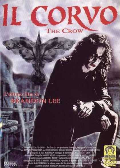 Italian DVDs - The Crow