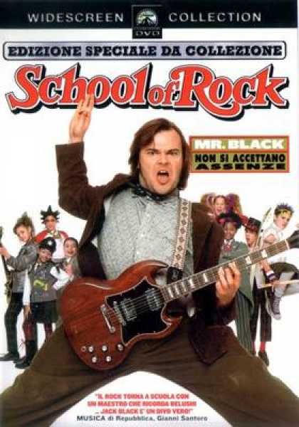 Italian DVDs - School Of Rock WS SCE