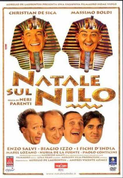 Italian DVDs - Christmas On The Nile