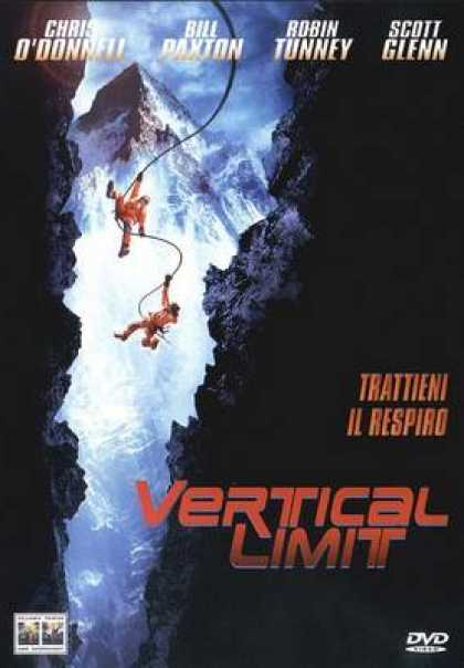 Italian DVDs - Vertical Limit