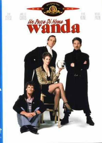 Italian DVDs - A Fish Called Wanda