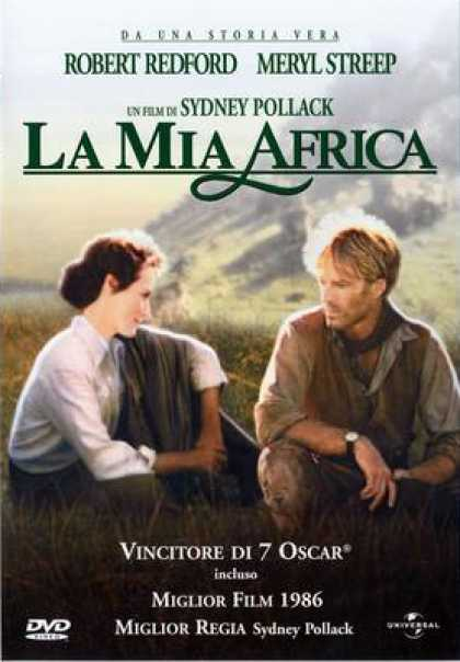 Italian DVDs - Out Of Africa