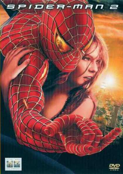 Italian DVDs - Spiderman 2