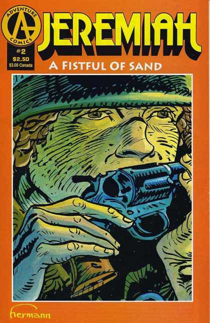 Jeremiah: Fistful of Sand 2 - No 2 - Gun - Nose - Fingernails - Helmet