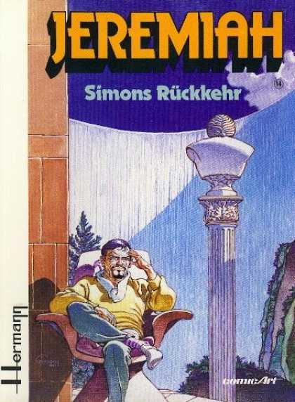 Jeremiah 14 - Simons Ruckkehr - Column - Headache - Chair - Sitting