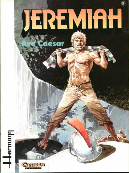 Jeremiah 18 - Hermann - Ave Caesar - Boulder - Helmet - Bare Chest