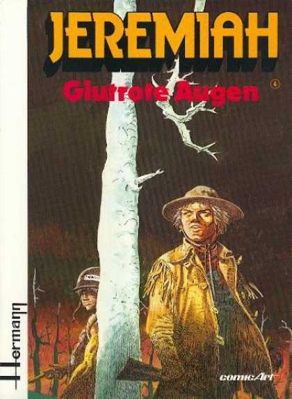 Jeremiah 4 - Western - Rifles - Comic Art - Dead Tree - Leather Coat