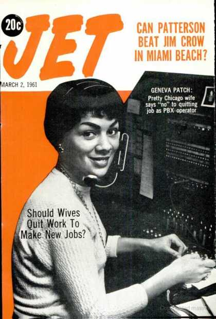 Jet - March 2, 1961