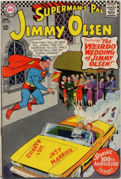 Jimmy Olsen 100 - Wedding