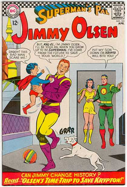 Jimmy Olsen 101 - Jimmy Olsen - Super Man - Super Kid - Women - Muscles