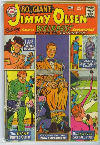 Jimmy Olsen 104 - Witch Doctor - Giant - Superman - Deep Freeze - Jimmy Olsen