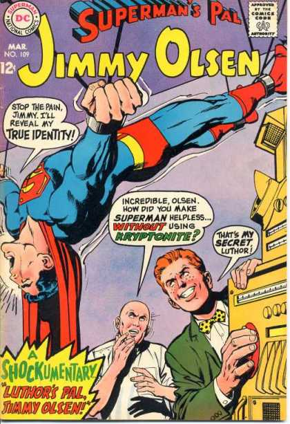 Jimmy Olsen 109 - Superman - Lex Luthor - Dc - Speech Bubble - March