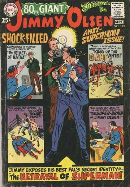Jimmy Olsen 113 - Superman - Clark Kent - Boxing - Ant