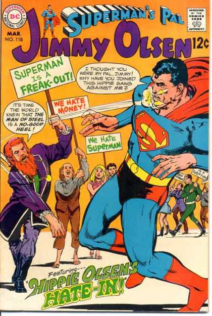 Jimmy Olsen 118 - Superman