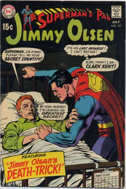 Jimmy Olsen 121 - Superman
