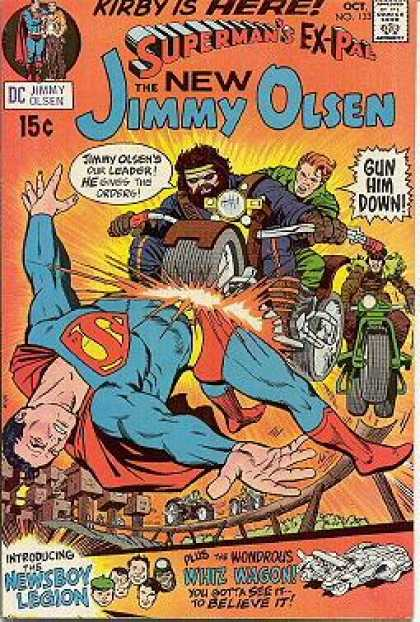 Jimmy Olsen 133 - Superman - Newsboy Legion