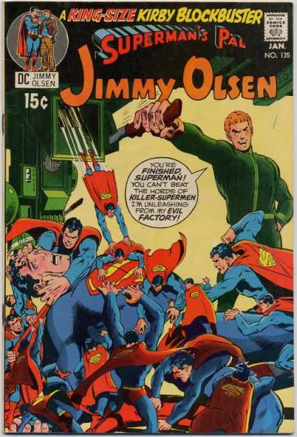 Jimmy Olsen 135 - Superman