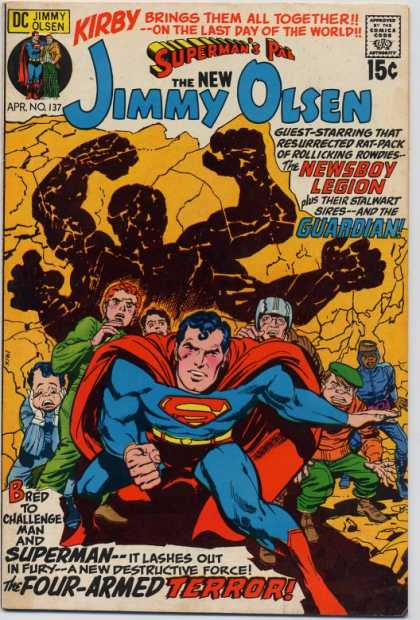 Jimmy Olsen 137 - Newsboy Legion - Supermans Pal Jimmy Olsen - Golden Age - Dc Comics - The Guardian