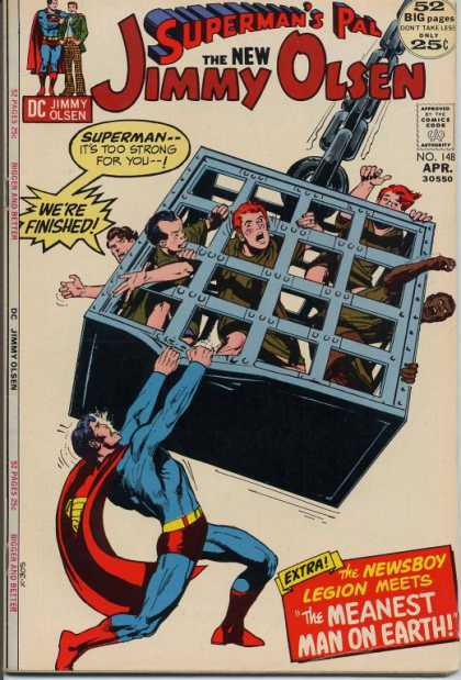 Jimmy Olsen 148 - Cage - Chain