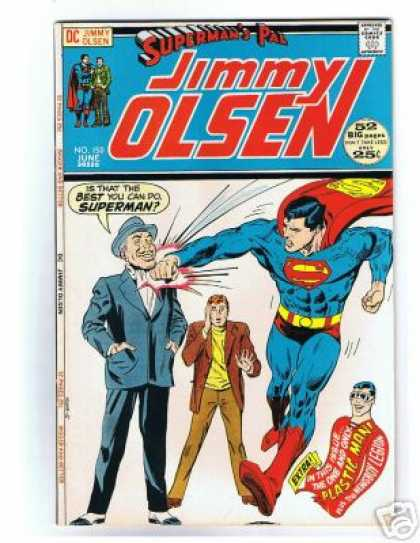 Jimmy Olsen 150 - Superman - Plastic Man - Failed Punch - Extra - Golf Shoes
