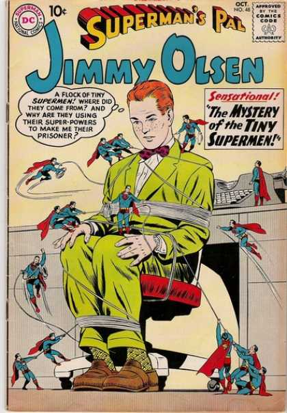 Jimmy Olsen 48 - Superman - Dc Comics - Tiny - Annoying Companions - Ugly Green Suit