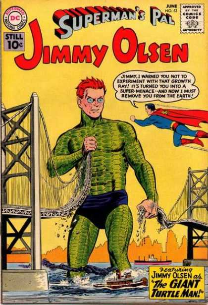 Jimmy Olsen 53 - Bridge