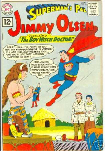 Jimmy Olsen 58 - Voodoo Doll - Hut
