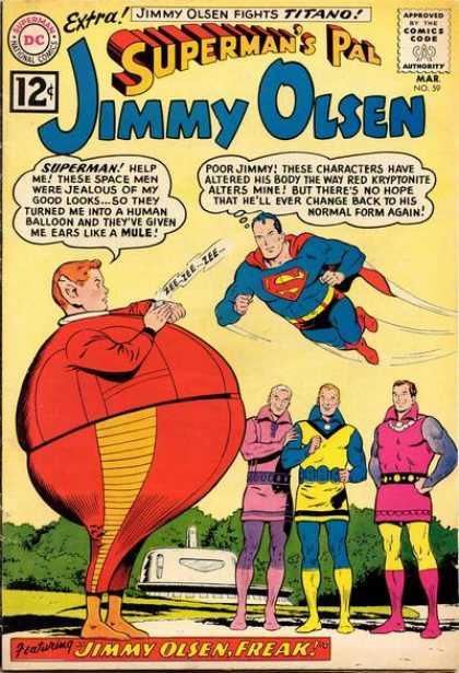 Jimmy Olsen 59 - Freak - Superman