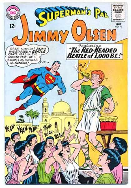 Jimmy Olsen 79 - Superman - Women - Drum - Cheering - Music Playing
