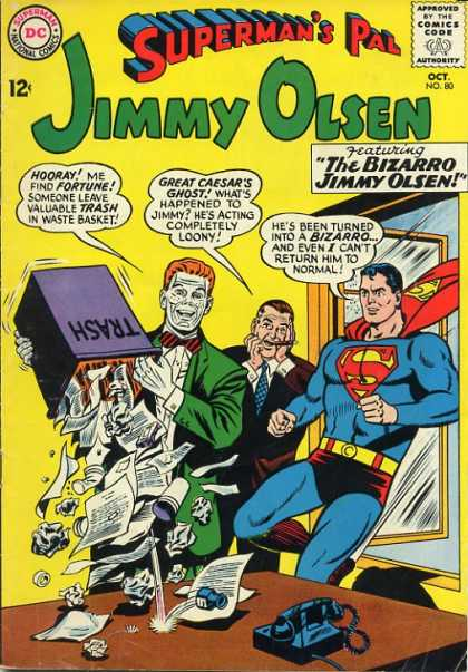 Jimmy Olsen 80 - Stupid Person - Key Maker - Donkey - Fish Saler - Honuer